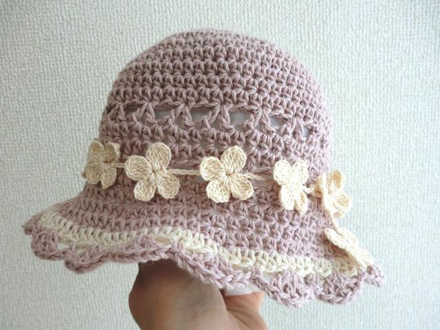 折りたたみOK!花冠の帽子 43cm