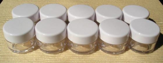 ジェルネイル容器 ジェルコンテナー 2重構造 ジェル保存容器 クリーム容器 化粧品小分け容器 ...