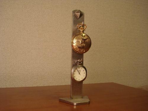 懐中時計スタンド  立体2本掛けタワースタンド