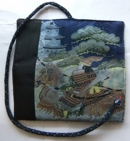 着物リメイク 男の子のお宮参り着で作った和風財布 1661