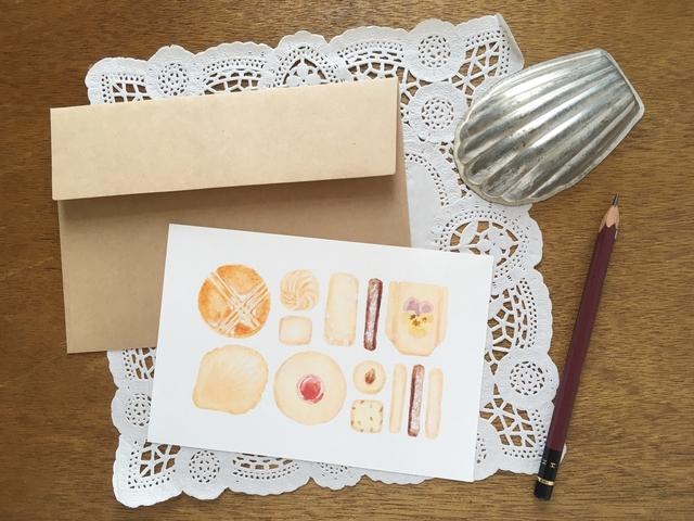 焼き菓子の詰め合わせカード