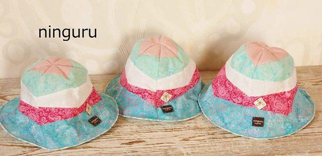 パステル・チューリップハット(girl's) blue