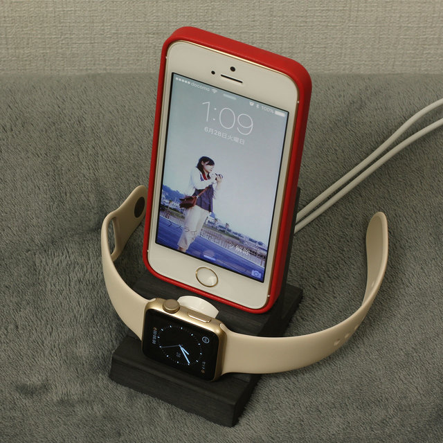 AppleWatch/ iPhoneスタンド