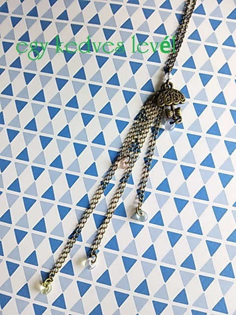 傘チャームネックレス