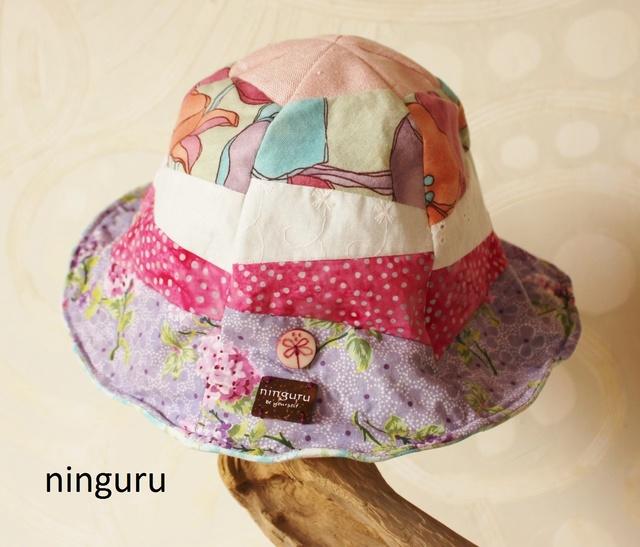 パステル・チューリップハット(girl's) pink