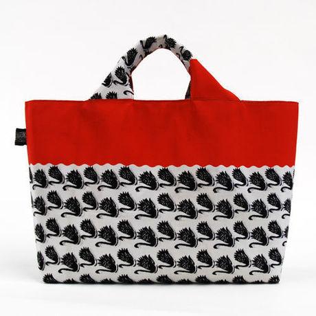 ちょっとマリンな鶴柄帯バッグ *試作品セール