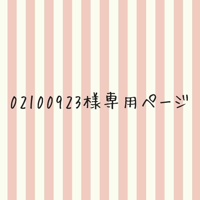 02100923様専用ページ