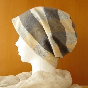 伸びないリバーシブル帽子 ネル&ガーゼ(CNR-001-C)