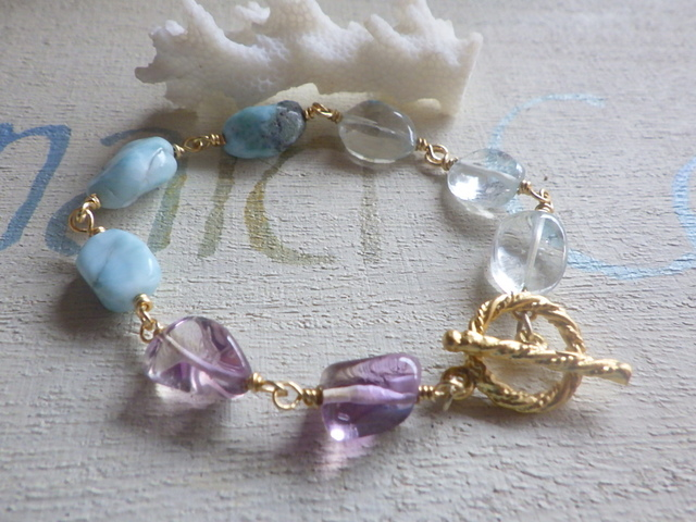 ☆再販☆ Mermaid's Seaside healing Bracelet