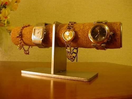 どっしり4本掛け腕時計スタンド