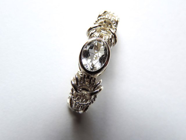 『 Across ( heart ) 』Ring by SV925