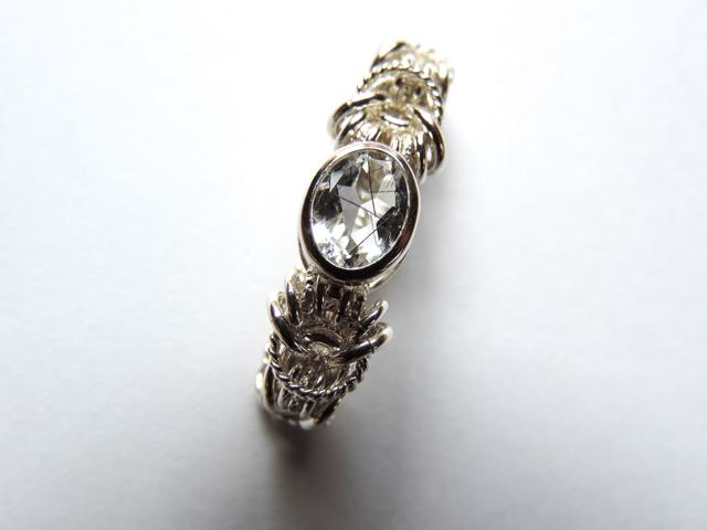 �� Across ( heart ) ��Ring by SV925