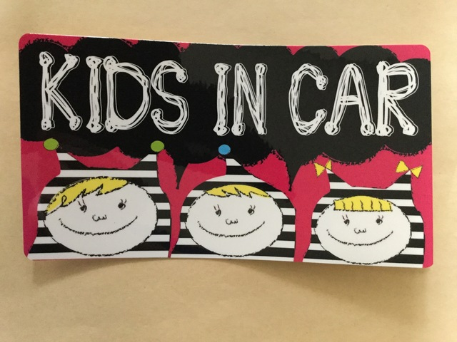 ���ɤ��������KIDS IN CAR�٥��ƥå���
