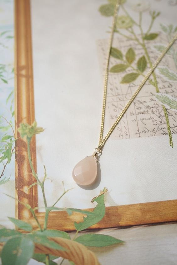 【送料無料!】癒しの石ピンクアベンチュリンのネックレス