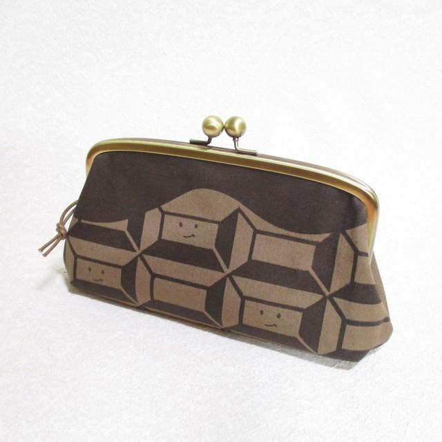 チョコレート柄(ビター) 長財布