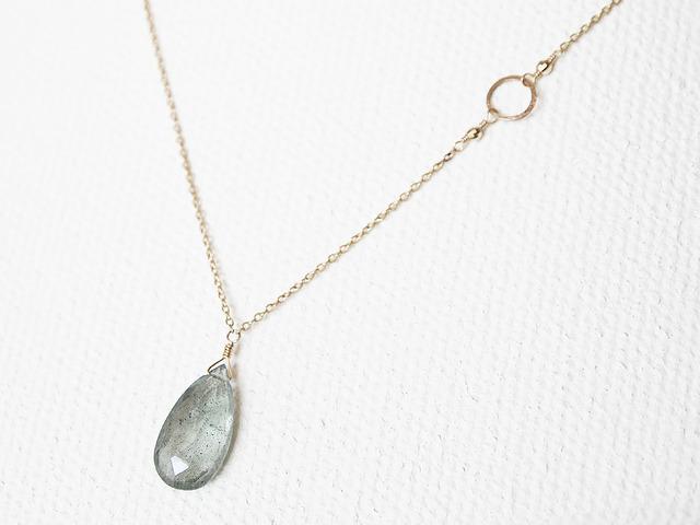 K10 Moss Aquamarine Necklace