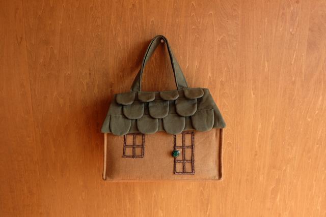 OUCHI box bag S ���green�ܥ�����