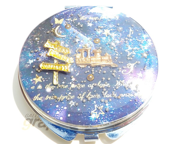 銀河鉄道  オーパール型 ミラー(ゴールド色)