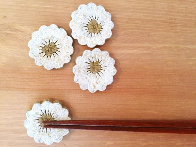 【再販】お花な箸置き