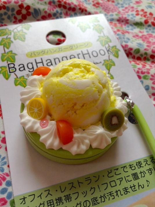 デコバックハンガー:レモンアイス