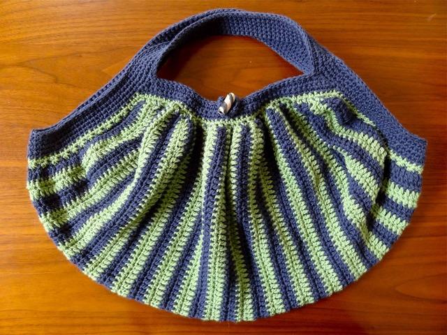 模様編みのバッグ by u-ya兎屋