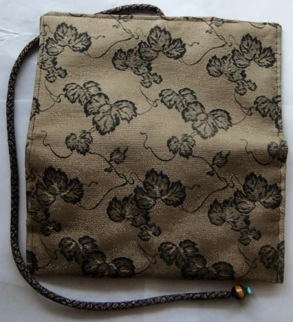着物リメイク 帯で作った和風財布 1688