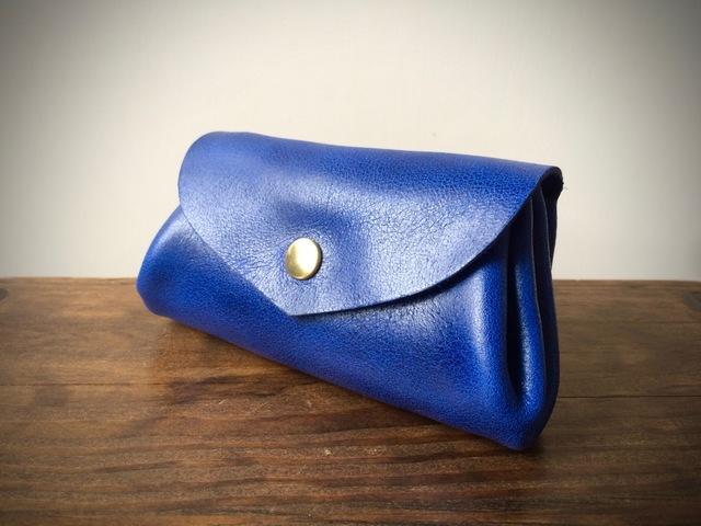 【即納品可能】コロコロ財布*ウルトラマリンブルー(瑠璃色)