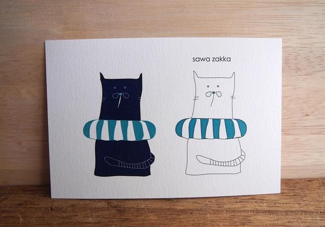 猫のポール 〈 ポストカード 〉