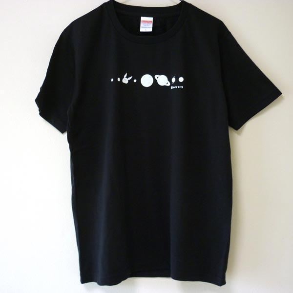 コスモサイトウサンTシャツ 黒(men-L)