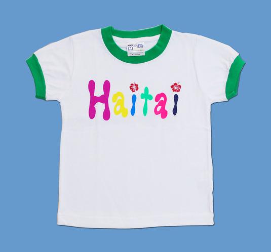 HAITAI トリムTシャツ 半そで110