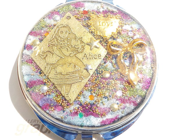 リボン Alice Wonderland mirror