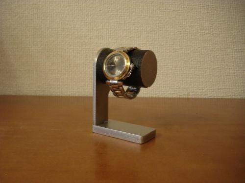 時計スタンド 1本掛けウォッチスタンド ブラック