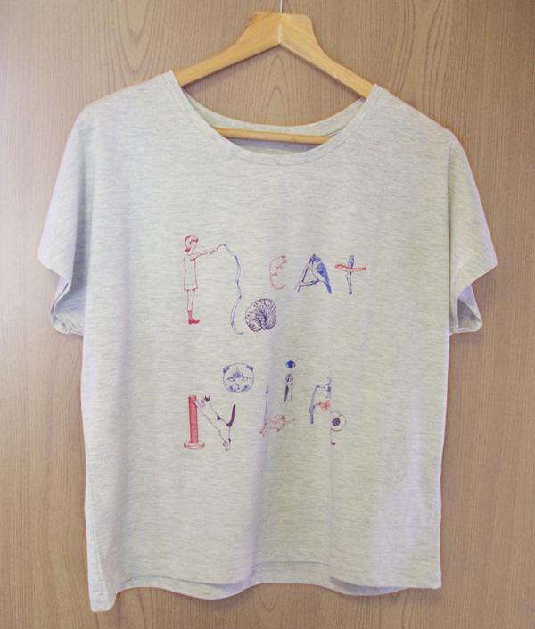 《no cat no life》Tシャツ