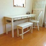 drawers4 DESK  wh  # size order #