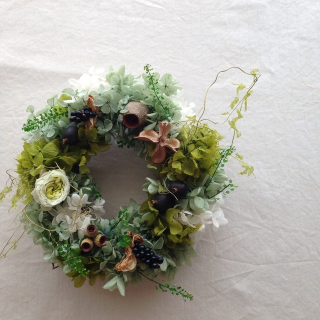 deep forest wreath
