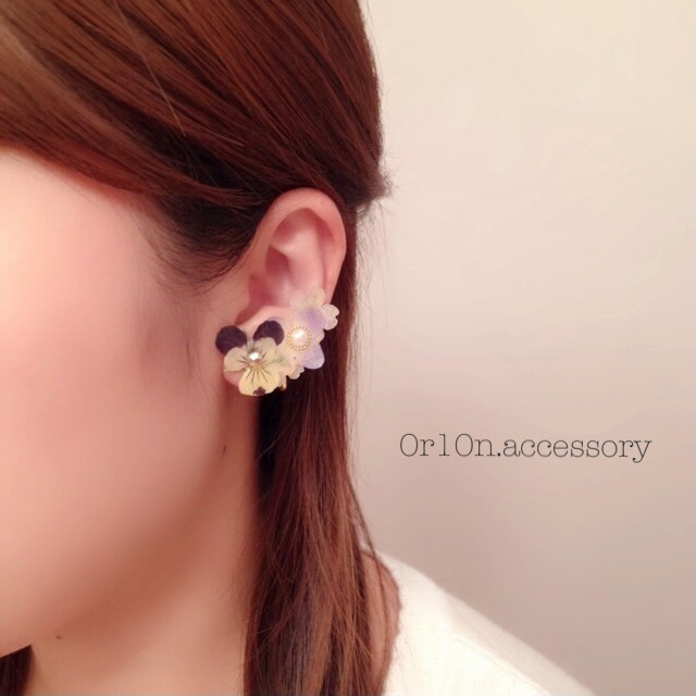 flower Earring.【no/5】