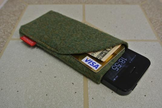 iPhone5 フェルトケース GREEN3