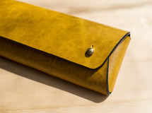 Wrapping Pen Case / YEL_Rugato