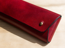 Wrapping Pen Case / RED_Rugato