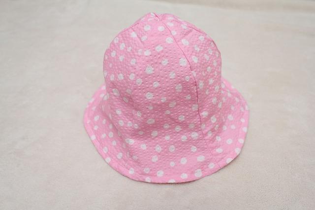 再販☆子ども帽子 チューリップハット(ピンク)