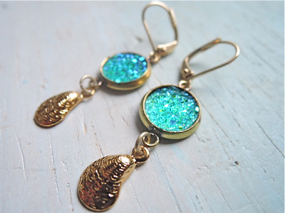 mermaid's lagoon earrings