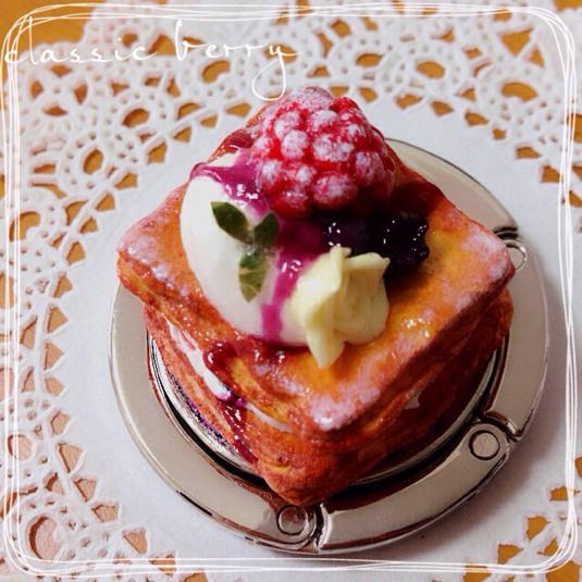 ケーキのバッグハンガー(仮)