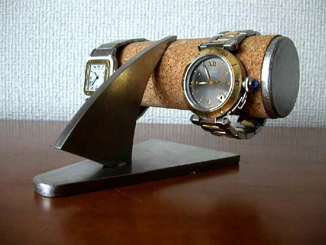 2本掛け腕時計ディスプレイスタンド
