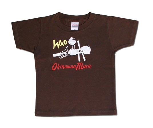 OkinawanMusic!WAO Tシャツ 半そで 110