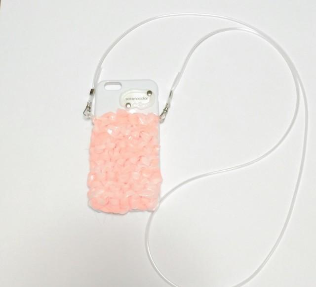 iPhonedress frozen コーラルピンク 6.6s