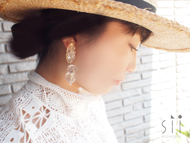 �㥤���󥰡�drop earring/bubble