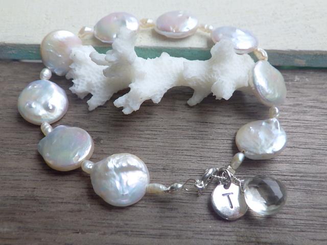 Mermaid Pearl Bracelet sv925