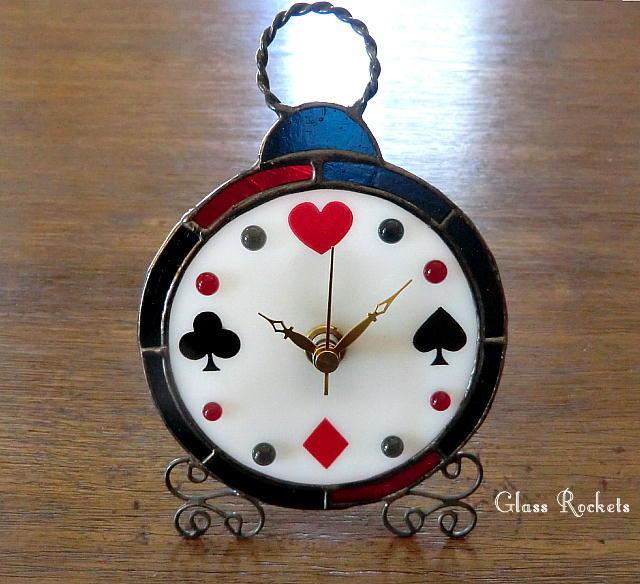アリスな時計 置き掛け兼用