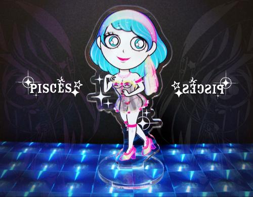 【ミニアクリルスタンド】12星座シリーズ*魚座