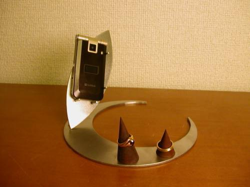 誕生日プレゼントに!携帯電話&指輪ディスプレイスタンド